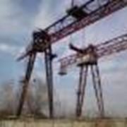 Краны козловые строительные КК 50-42 фото