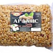 """Арахис жареный """"СнекЛандия"""" грибы-сметана, 1кг фото"""