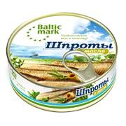 Шпроты крупные в масле - Balticmark фото