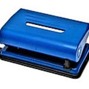 Дырокол 082681 Алингар AL 5523 пластиковый до 10 листов с ограничителем до А4 см_6,5*11 в уп.1 шт. ( цена за 1 шт.) фото