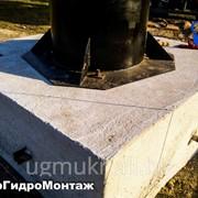 Фундамент под основание водонапорной башни Рожновского устройство по Украине фото