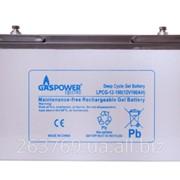 Гелевый аккумулятор для ИБП (UPS) Gaspower LPCG-12-100A/H фото