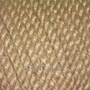 Веревка джутовая д6мм фото