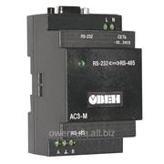 Автоматический преобразователь интерфейсов RS-232/RS-485 ОВЕН АС3-М фото