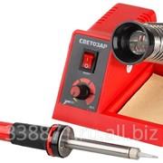 Паяльная станция Светозар аналоговая, жало Hi quality, 2-х компонентная рукоятка, 100 - 450°C, 48Вт фото
