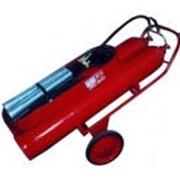 Передвижной углекислотный огнетушитель ВВК-56 фото