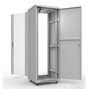 Напольный шкаф 19 дюймов Премиум 42U 800х1000 мм, передняя дверь перфорация фото