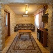 Отличный 2 местный коттедж со всеми удобствами для зимнего отдыха. Сезонный отдых. фото