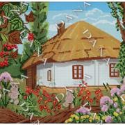 Схема Українська хатина фото