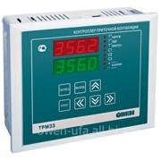 Контроллер для регулирования температуры в системах отопления с приточной вентиляцией ОВЕН ТРМ33 фото