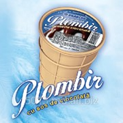 Мороженое шоколадное фото