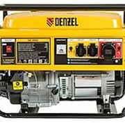 DENZEL Генератор бензиновый GE 8900, 8,5 кВт, 220 В/50Гц, 25 л, ручной пуск. DENZEL фото