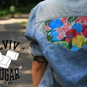 Розпис куртки від Lviv Sugar фото