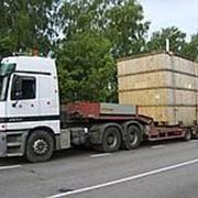 Поставка негабаритных грузов автомобильным транспортом фото