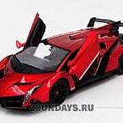Радиоуправляемая машина MZ Lamborghini Veneno Red 1:14 2289J фото