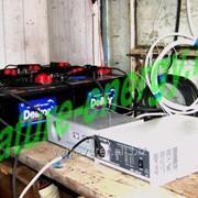 Ветросолнечная энергоустановка Ветряк + солнечные модули фото