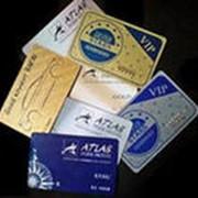 Изготовление пластиковых страховых карт фото