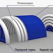 Пневмокаркасные надувные сооружения здания TENTER. Дизайн, производство и монтаж фото