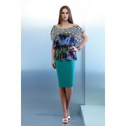 Нарядные платья и костюмы для женщин крупных размеров от 48 по 60 фото