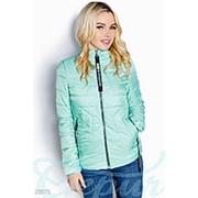 Куртка женская дутая из плащевки (4 цвета) - Ментол ВШ/-914 фото