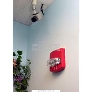 Монтаж пожарной сигнализации, систем оповещения и управления эвакуацией фото