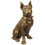 Скульптура Домашний любимец / Собака Боксер 35х50х25см. арт.MK1075 фото