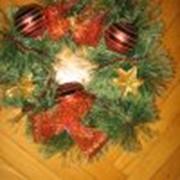 Рождественские венки фото