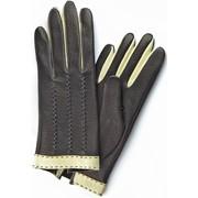Перчатки женские из кожи оленя, модель 369 фото