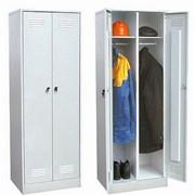 Шкафы гардеробные для раздевалок фото