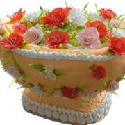 Торт на заказ Корзина фото