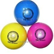 Мяч для художественной гимнастики, диаметр 15 см фото