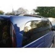 Рейлинги на Renault Sandero 07- черный, Crown (Can Otomotiv) фото