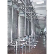 Линии для производства питьевого молока и кисломолочных напитков. фото