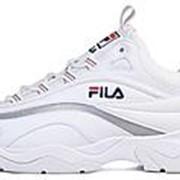 """Кроссовки Fila Ray """"Silver/White"""" (FS1SIA1165X) фото"""