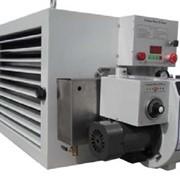 Автоматический воздухонагреватель на отработанном масле и печном топливе фото