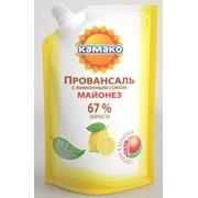 Майонез Провансаль с лимонным соком, жирность 67% фото