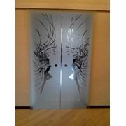 Рисунок на стекле, зеркале, металле. фото