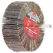 Matrix Круг лепестковый для дрели, 80 х 30 х 6 мм, P 150 Matrix фото