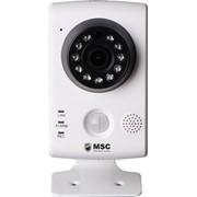 Компактная IP-камера WI FI с датчиком движения + запись на SD карту фото