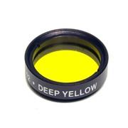 Светофильтр Levenhuk желтый №12, 1.25''. Посадочный диаметр: 1,25''. Для детального изучения планет и Луны фото
