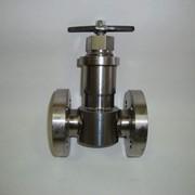 Клапан запорный игольчатый фото