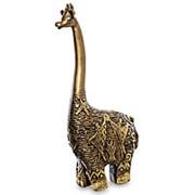 Скульптура Жираф 12х33,5х6см. арт.БФ-77 фото