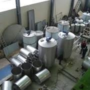 Изготовление резервуаров для нефти фото