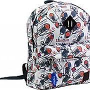 Городской рюкзак Bagland Молодежный (дизайн) 00533664 фото