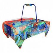 Игровой - стол аэрохоккей RAZAP 6 ft Hip-Hop Blue фото