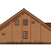Акция - 1350 грн. за м² по стене! Строительство гостевых домов из дикого сруба по всей Украине! фото