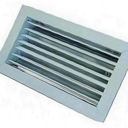 Решетка вентиляционная алюминиевая РАГ 100х1400 фото