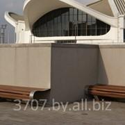 Брус скамеечный из древесно - полимерного композита, 32 х 50, длина под заказ - любая фото