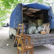 Вывоз мебели на свалку Газель фото