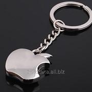 Брелок в виде логотипа компании Apple (надкушенное яблоко) SKU0000218 фото